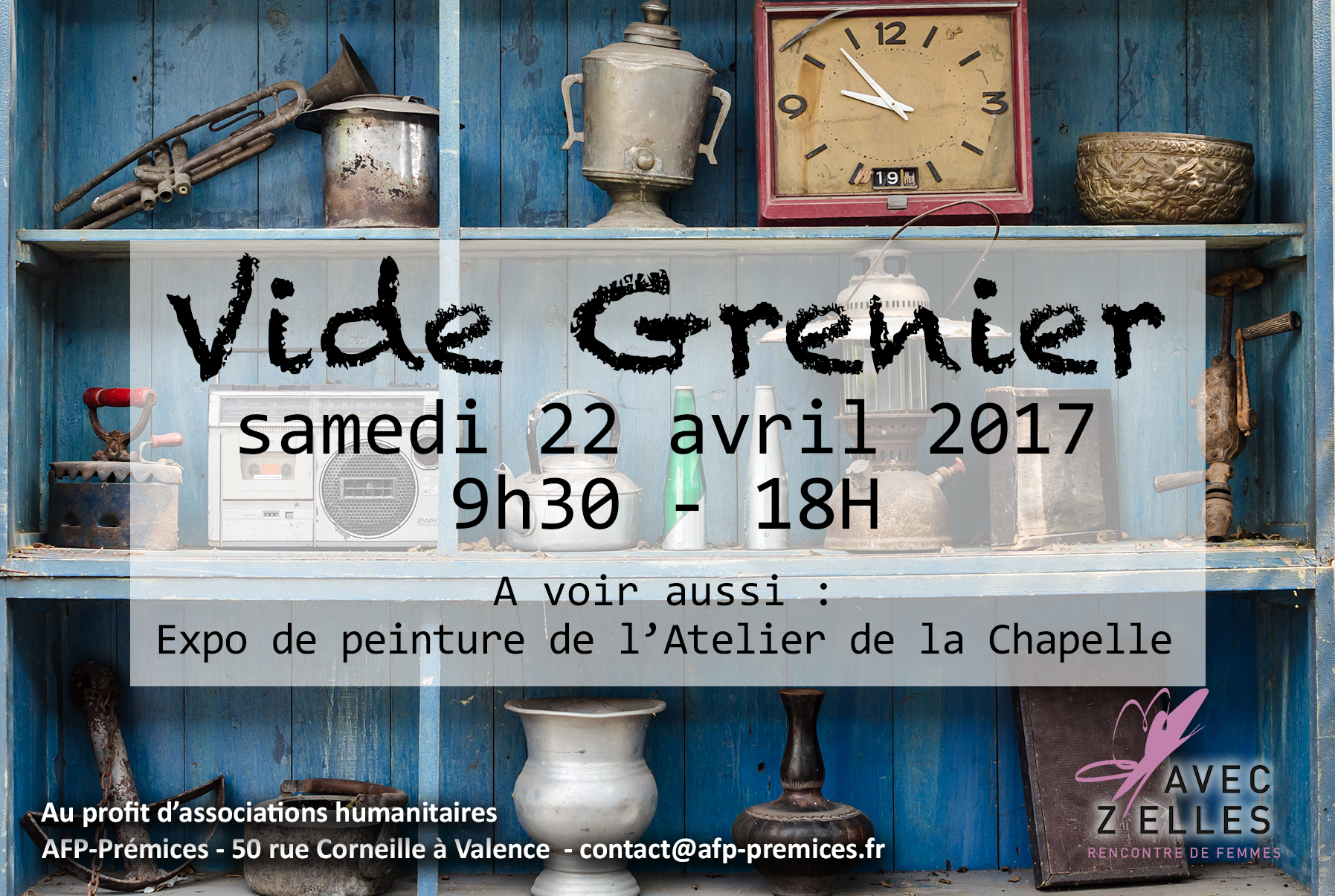 Vide grenier solidaire le 22 avril 2017 la chapelle m eglise evang lique - Vide grenier dans l yonne ce week end ...